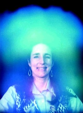 Woman With Blue Aura