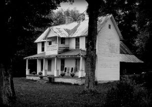 Ghostly Grandparent's House