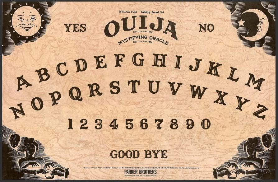 photo regarding Printable Ouija Boards identified as Ouija Board