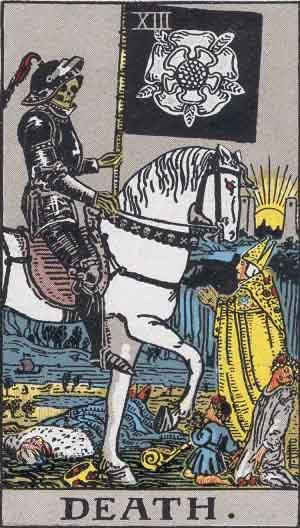 Death Card - Tarot