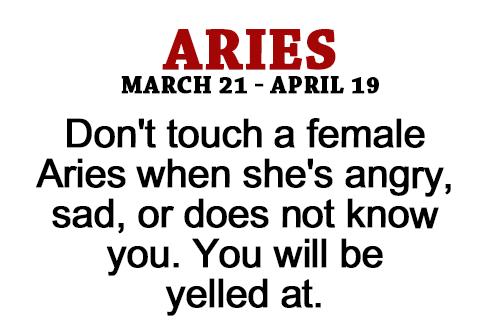 Aries emotions